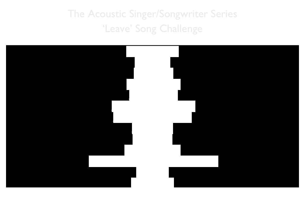 The Acoustic Singer/Songwriter Series 